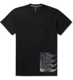 Uppercut Black Coated Spikes Zip Pocket T-Shirt Picutre
