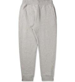 Stussy Heather Grey Luxe Fleece Sweatpants Picutre