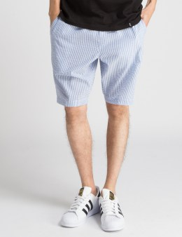 HUF Blue Seersucker Easy Shorts Picture