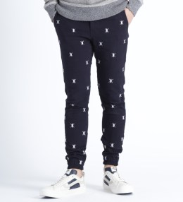 Daily Paper Navy Allover Shield Jogger Pants Picture