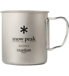 snow peak Titanium 600ml Single Wall Cup Picture