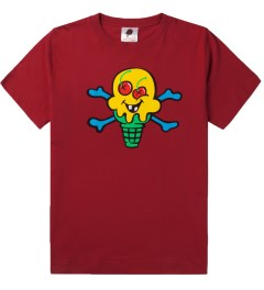 ICECREAM Chili Pepper Cone & Bones T-Shirt Picutre