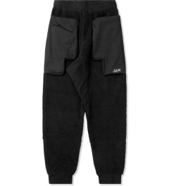 P.A.M. Black Fuzz Tech Duplo Pants Picture