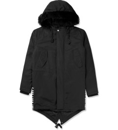 Black Scale Black Torpedo Jacket Picture
