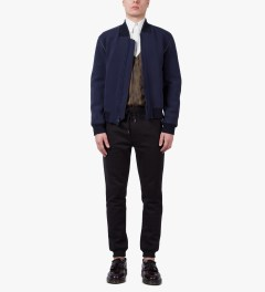 3.1 Phillip Lim Redwood Combo Panel L/S Button Up Shirt Model Picutre