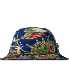 HUF Blue Souvenir Bucket Hat Picture