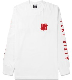 Undefeated White Official L/S T-Shirt Picture