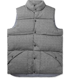 Penfield Grey Outback Vest Down Insulated Vest Picture