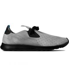 Native Shibori Grey/Jiffy Black Apollo Moc Dyed Shoes Picture