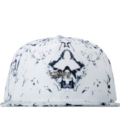 Stampd White Stone Print Snapback Cap Picture