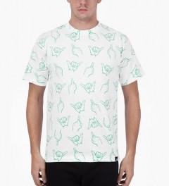 Primitive White HLFU T-Shirt Model Picture