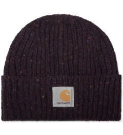 Carhartt WORK IN PROGRESS Burnt Umber Heather Anglistic Beanie Picutre