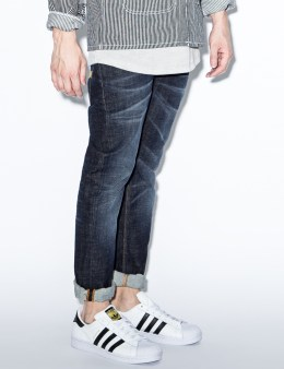 Nudie Jeans Blue Grim Tim Dry Selvage Denim Jeans Picture