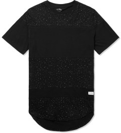 Stampd Black Speckled Panel T-Shirt Picutre