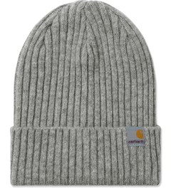 Carhartt WORK IN PROGRESS Grey Heather Harris Beanie Picutre