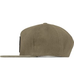 The Quiet Life Tan Day Logo Snapback Cap Model Picture