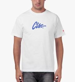 CLSC White Script T-Shirt Model Picutre