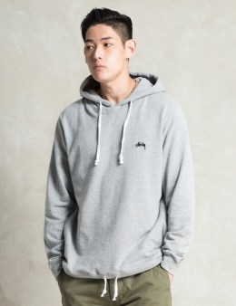 Stussy Grey Heather French Terry Hoodie Picture