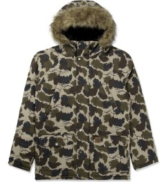 Carhartt WORK IN PROGRESS Camo Mitchell/Black Trapper Parka Picutre