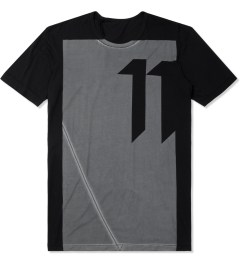 11 By Boris Bidjan Saberi Black TS-1 T-Shirt Picutre