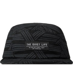 The Quiet Life Black Rope 5 Panel Cap Picture