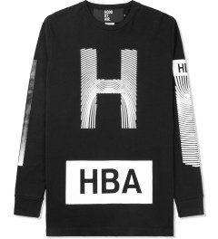 Hood By Air. Black Identity T-Shirt Picture