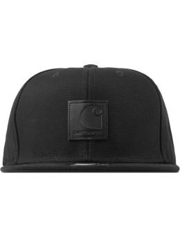 Carhartt WORK IN PROGRESS Black Logo Starter Cap Picture