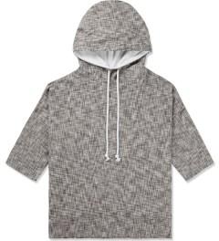 CLOT Brown ¾ Sleeve Hoodie Picture