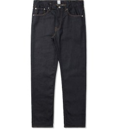 Head Porter Plus Indigo Sweat Denim Pants Picture