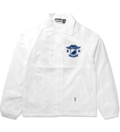 "Bedwin & The Heartbreakers White ""Jill"" Coach Jacket Picture"