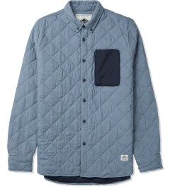 Penfield Blue Harrison L/S Quilted Shirt Picture