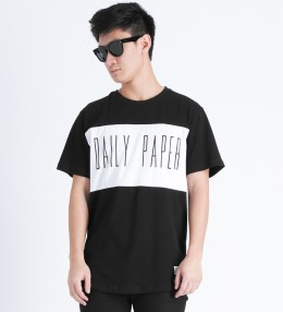 Daily Paper Black Panel T-Shirt Picture