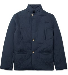 Still Good Navy Jazzy Nylon Suit Jacket Picutre