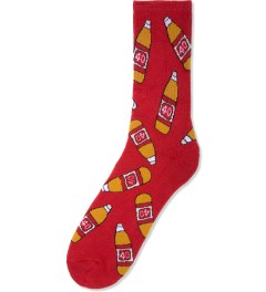 40s & Shorties Red 40s Socks Picture