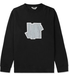 Undefeated Black Double 5 Strike Crew Sweater Picutre