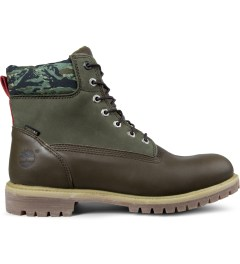 Black Scale Timberland x Black Scale Olive Green 6-inch Premium Boots Picture