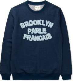 BWGH Navy/Blue Brooklyn Parle FR1 Sweater Picutre