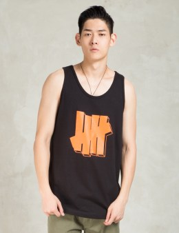 UNDEFEATED Black Strike Block Tank Top Picture
