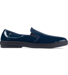 Rivieras Blue Vinyl Slip-On Shoes Picutre