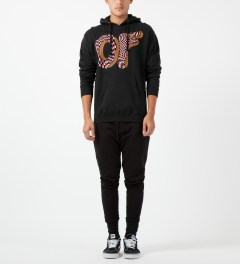 Odd Future Black Opitcal Donut Hoodie Model Picture