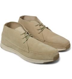 Ransom Desert/Light Bone Alta Mid Shoes Model Picutre
