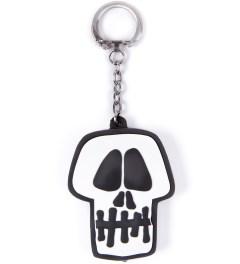 Stussy Black Skull Light Keychain Picture