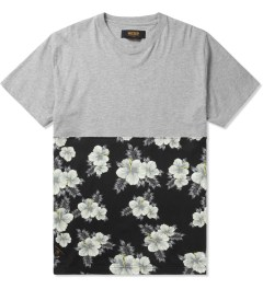 10.Deep Heather Grey Raise Up Split T-Shirt Picture