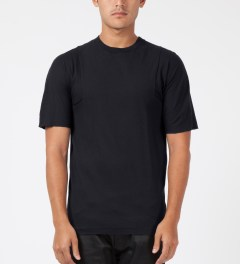 SILENT Damir Doma Black Thaume Kimono Sleeve T-Shirt Model Picture