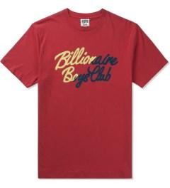 Billionaire Boys Club Lollipop Red S/S Slash T-Shirt Picutre