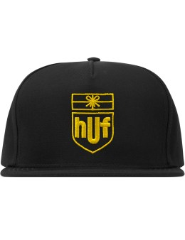 HUF Black Delivery Snapback  Picture