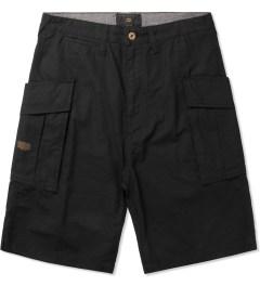 10.Deep Black High Post Shorts Picutre