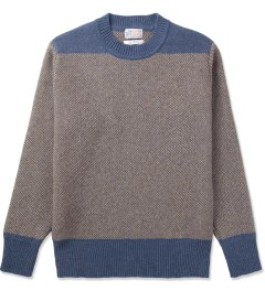 Garbstore Brown Chindit Crewneck Sweater Picutre