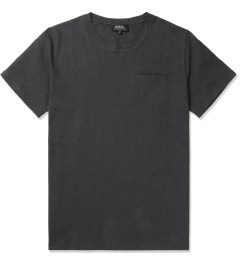 A.P.C. Anthracite Passepoil T-Shirt Picture