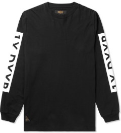 10.Deep Black Triple Box L/S T-Shirt Picutre